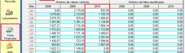 Médias de Valores Variáveis no cálculo da 1ª parcela do 13º salário na Folha QuartaRH
