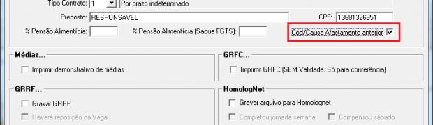 Novo TRCT, Homolognet e DIRF 2011